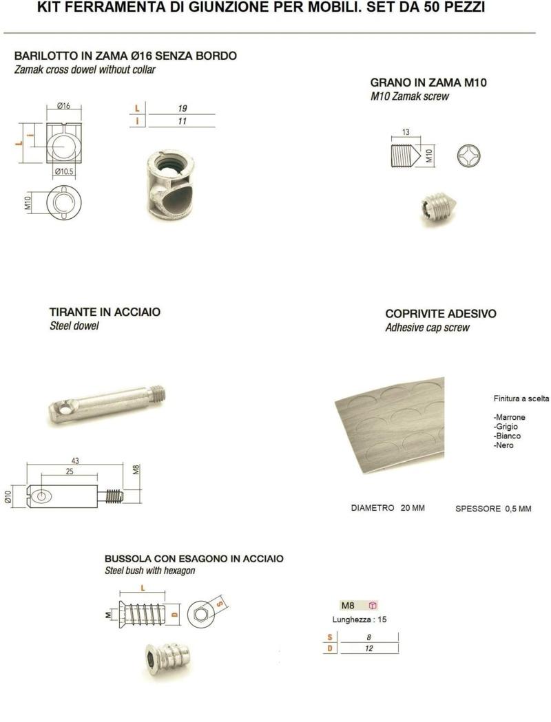 kit-50-pezzi-giunzione-mobili-barilotto-16-mm